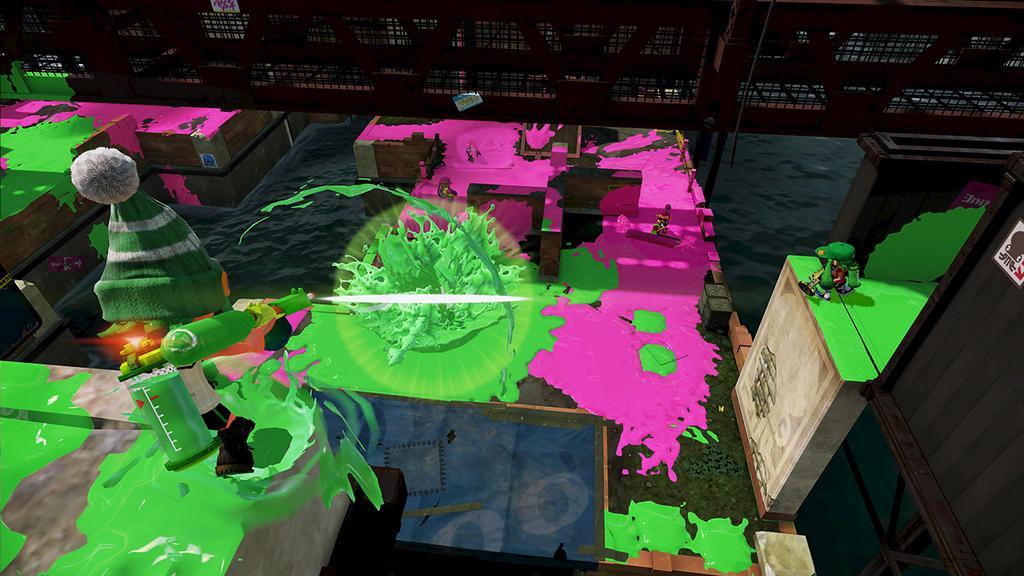 Bluefin Depot kolajna mapa w Splatoon