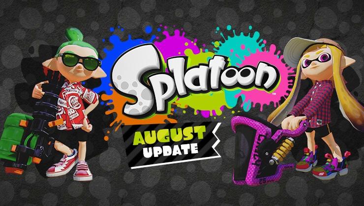 Splatoon 2.0.0 aktualizacja szczegóły