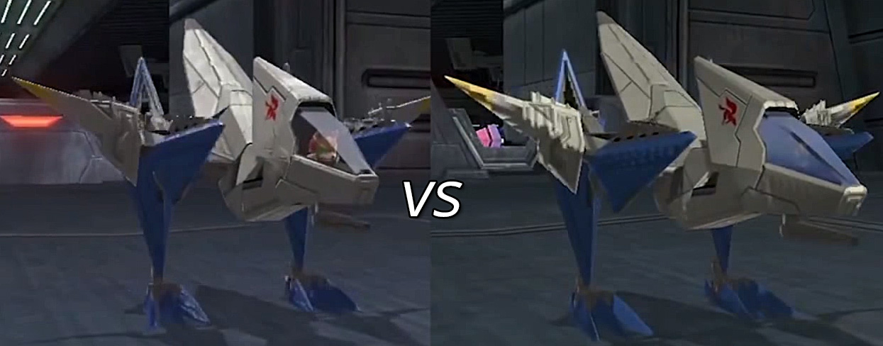 Star Fox Zero E3 vs Direct