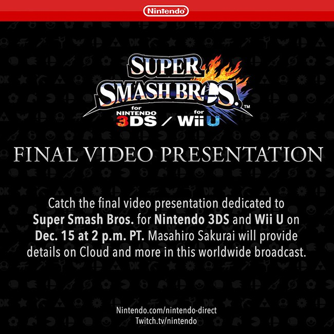 Super Smash Bros wersja finalna