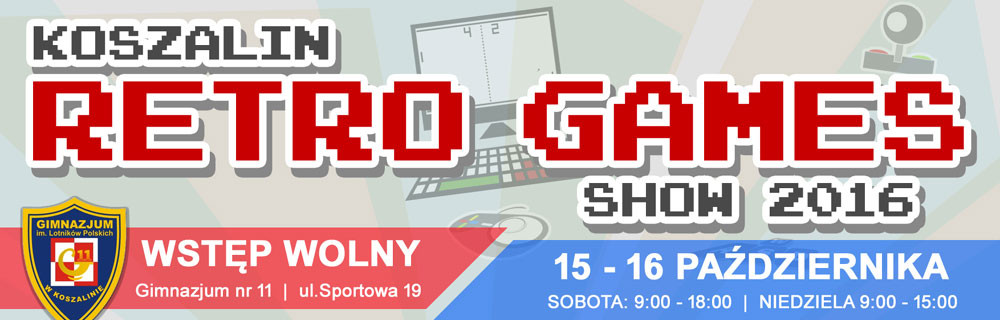 Koszalin Retro Games Show 2016