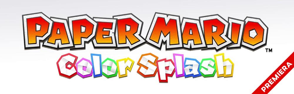 Premiera Paper Mario: Color Splash