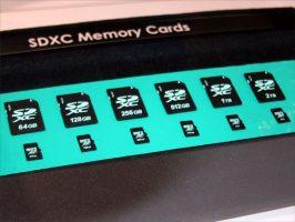Duże karty SDHC max 2TB
