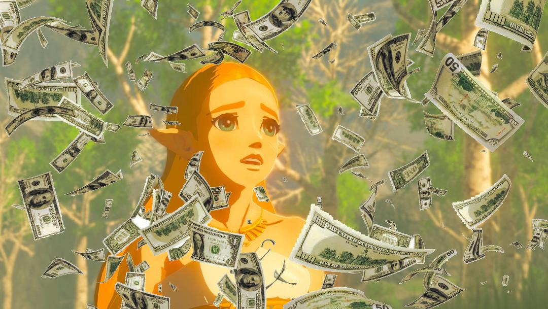 Dwukrotne podwojenie produkcji Switacha. Zelda nie wie co zrobić z deszczem pieniędzy!