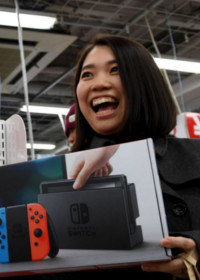 W pierwszym tygodniu sprzedano 1.5 miliona konsol Nintendo Switch
