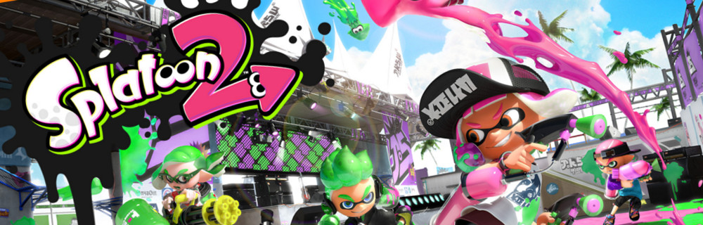 Splatoon 2 Global Testfire 24-26 marca