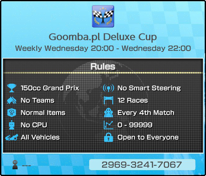 Informacje Goomba.pl Deluxe Cup
