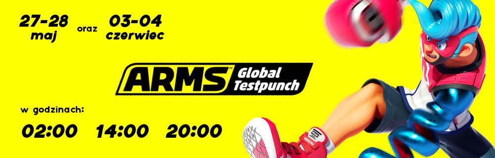 ARMS Global Testpunch 27-28 maj i 03-04 czerwiec