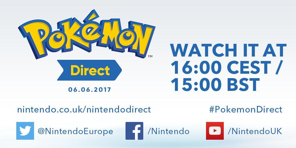 Pokémon Direct 06.06.207 16:00