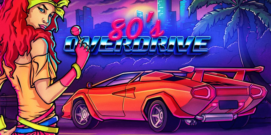 80's OVERDRIVE Banner