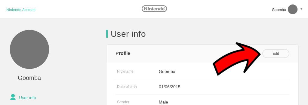 Profil zalogowanego użytkownika
