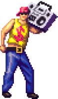 80's OVERDRIVE Pixelart
