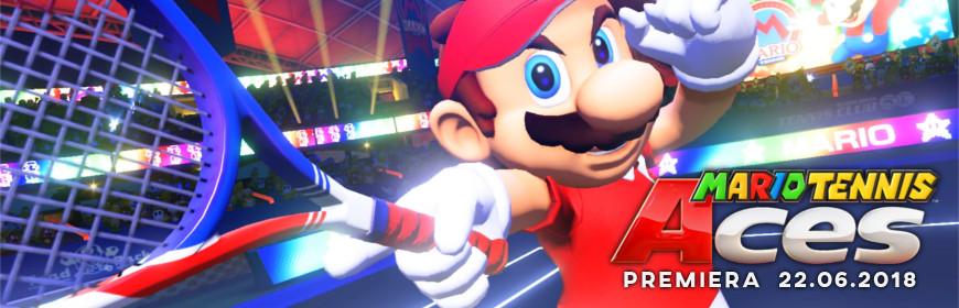 Mario Tennis Aces Premiera 22.06.2018
