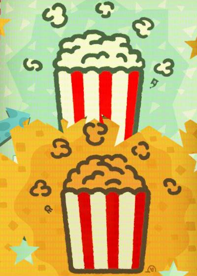 Popcornowy Splatfest słony kontra słodki