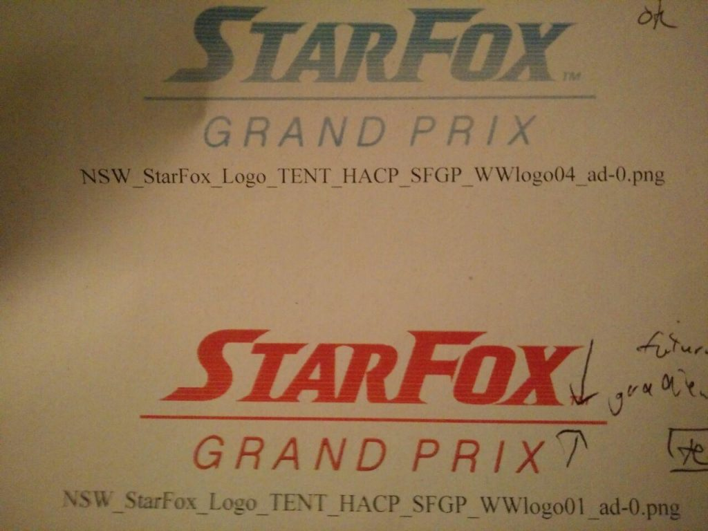 Logo Star Fox: Grand Prix
