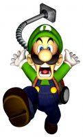 Uciekający Luigi z Luigi's Mansion