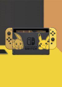 Nintendo Switch w wersji kolorystycznej Pikachu & Eevee