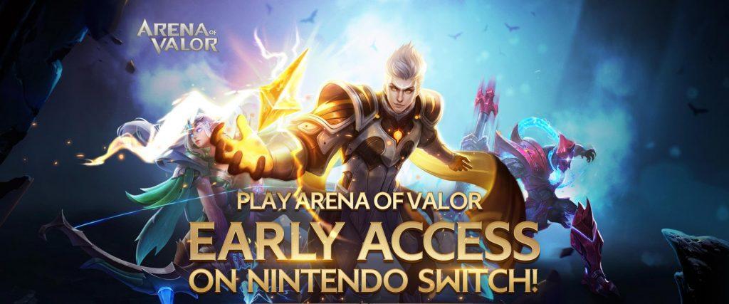 Wczesny dostęp Arena of Valor na Nintendo Switch