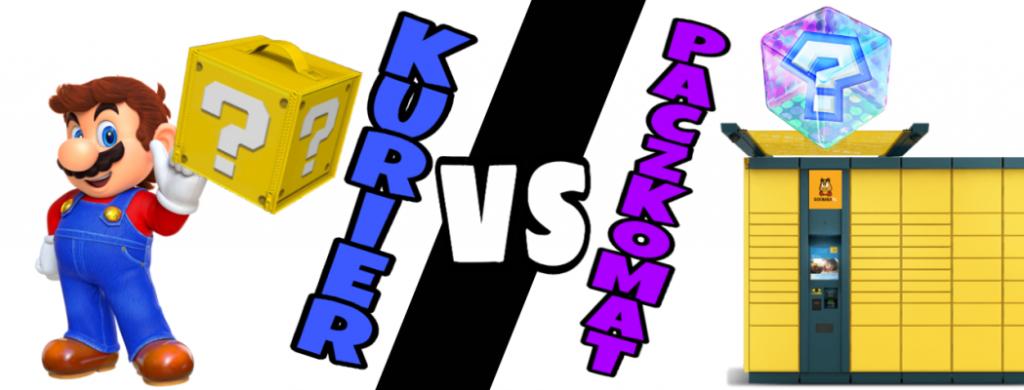 Kurier vs Paczkomat