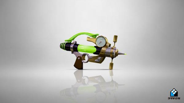 Splash-O-Matic trzecia nowa broń w Splatoon
