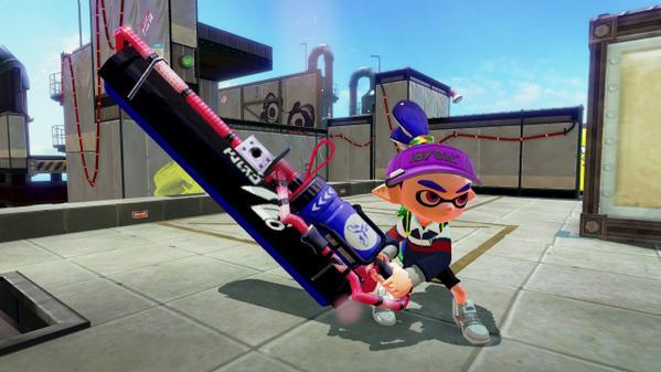 Dual Squelcher i Carbon Roller dwie nowe bronie do Splatoona