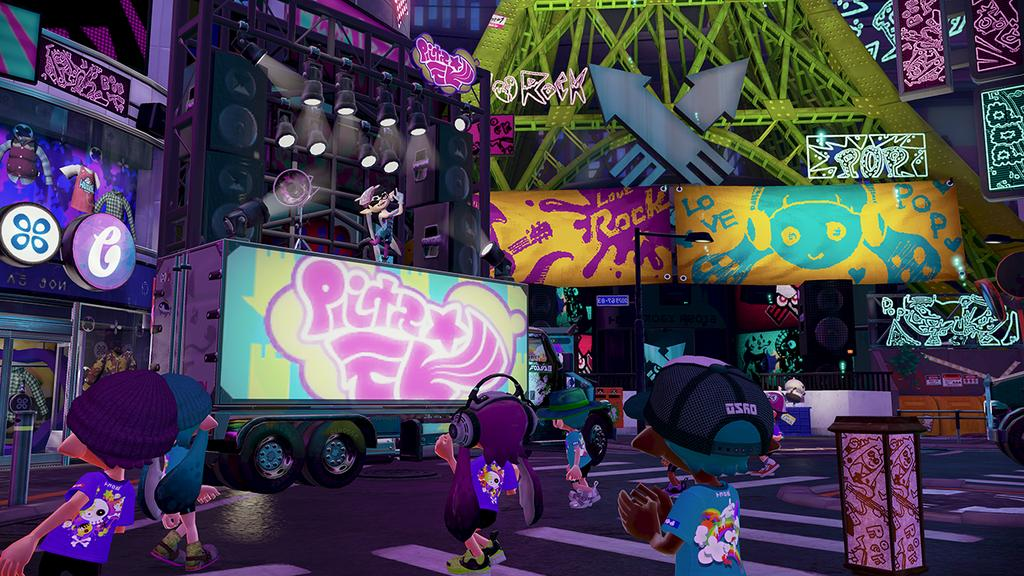 Pierwszy splatfest  Rock vs. Pop