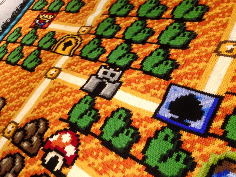 Spędził 6 lat tworząc narzutę Super Mario