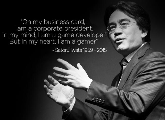 Satoru Iwata cytat