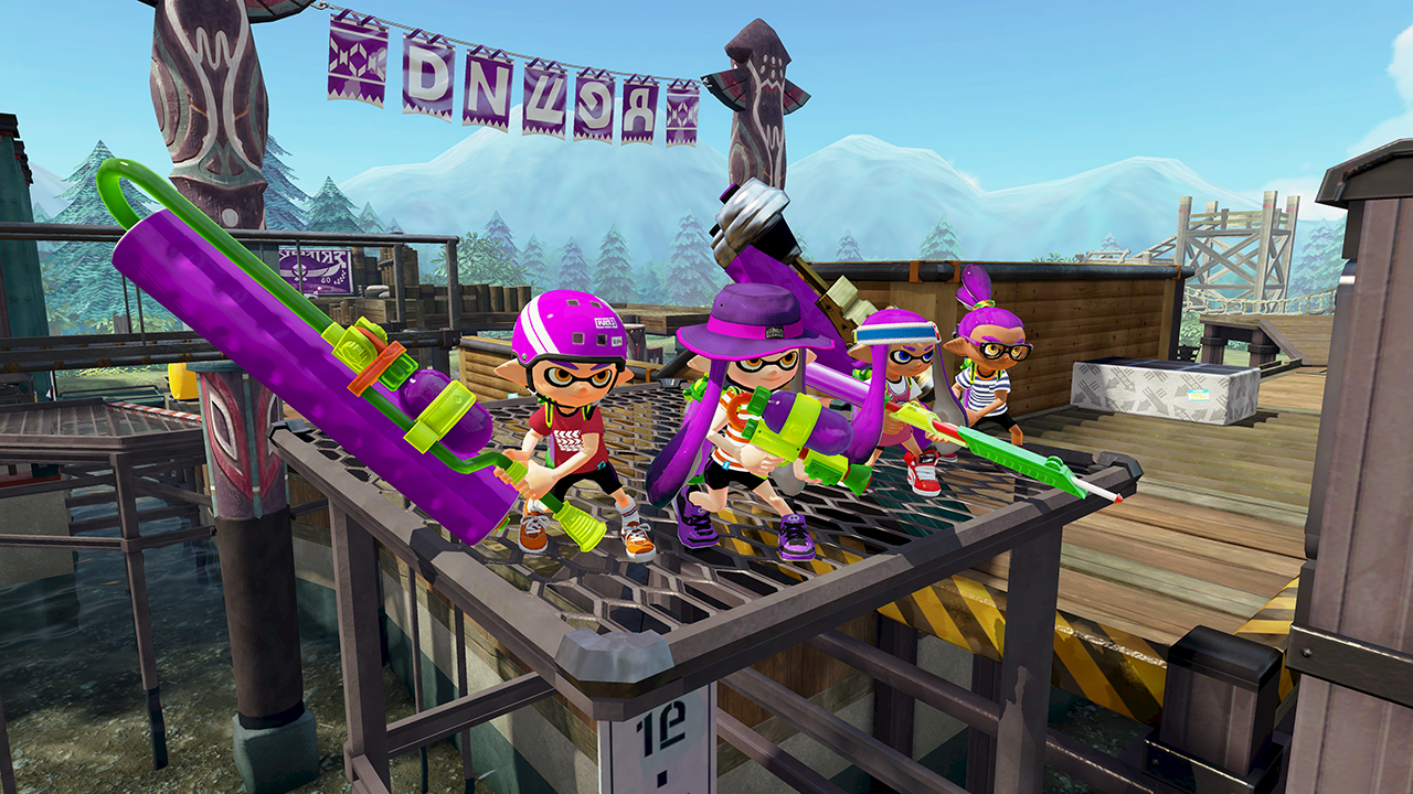 Camp Triggerfish! Już jutro w Splatoon!