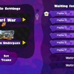 Splatoon Private Battle oczekiwanie na grę