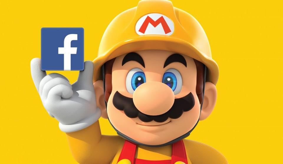 Super Mario Maker Facebook