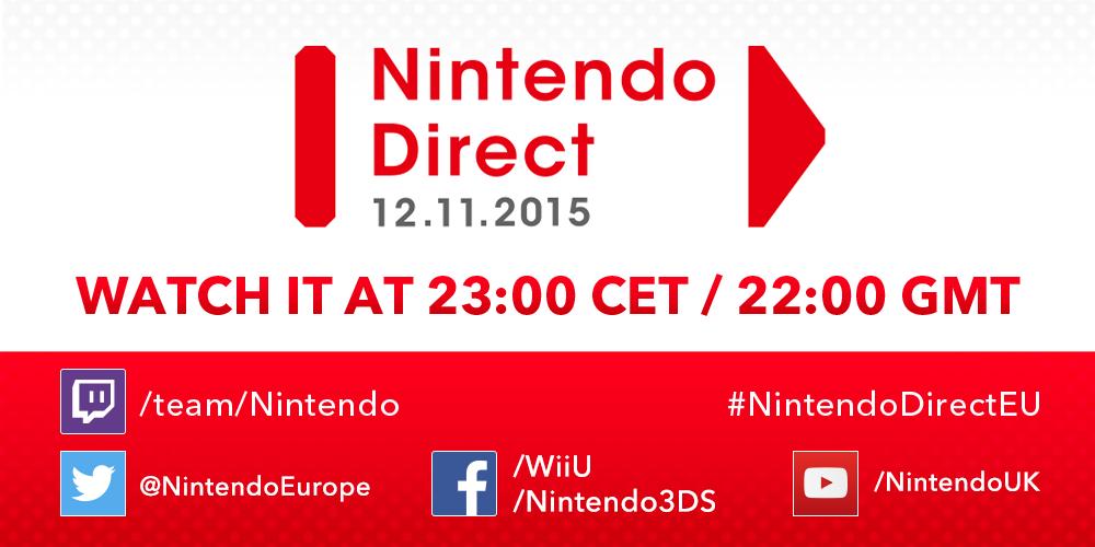 Listopadowy Nintendo Direct