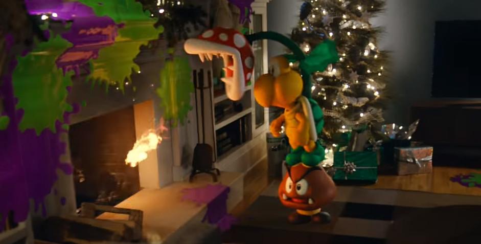 Reklama Wii U na święta