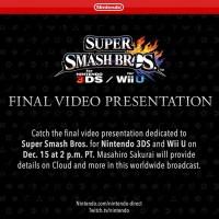 Finalna prezentacja Super Smash Bros.