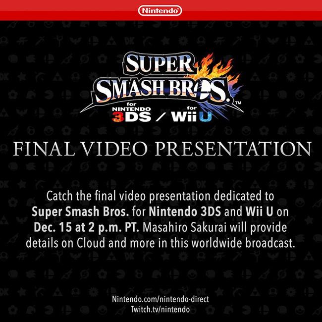 Super Smash Bros wersja finalna