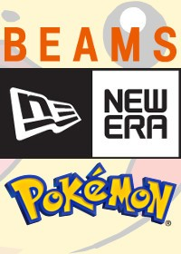 BEAMS x Pokémon x New Era czapki na 20-lecie