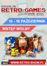 Zapraszamy na Koszalin Retro Games Show 2016