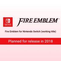 Fire Emblem na Nintendo Switch 2018