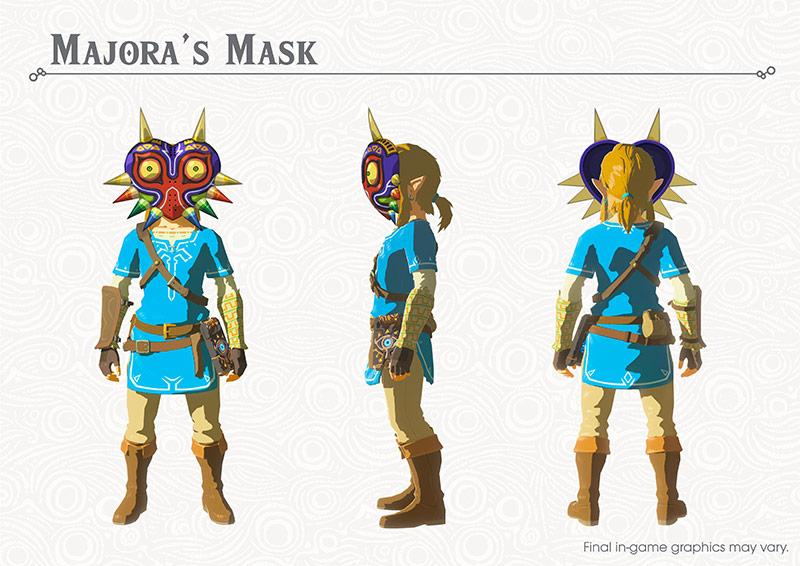 Maska Majory