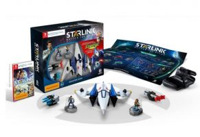 Starlink ze StarFoxem na Nintendo Switch