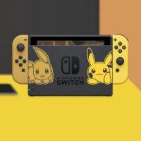 Nintendo Switch edycja Pikachu & Eevee