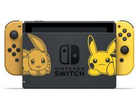 Nintendo Switch edycja Pokemon stacja dokująca