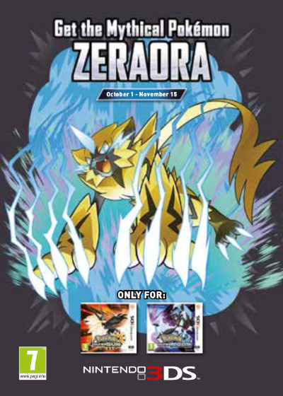 Zdobądź pokémona Zeraora