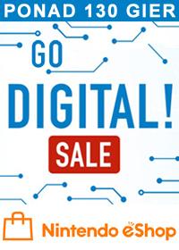 Go Digital! – wyprzedaż cyfrowych gier w Nintendo eShop