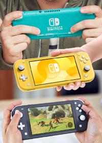 Plotki okazały się prawdą oto Nintendo Switch Lite.