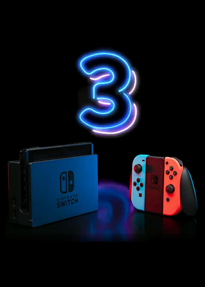 Trzecie urodziny Nintendo Switch